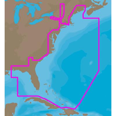 C-MAP 4D Max, US East Coast & Bahamas