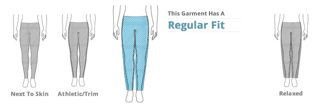 Mens Bottoms Clothing Fit: Regular Fit