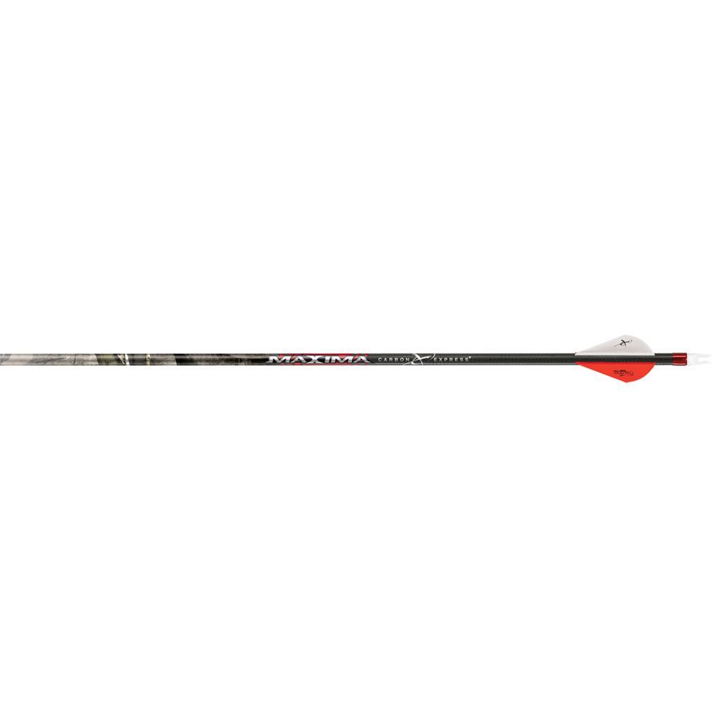 "Carbon Express PileDriver Hunter 350 Arrows Mossy Oak Fletched w// 2/""  Vanes 6 Pk"