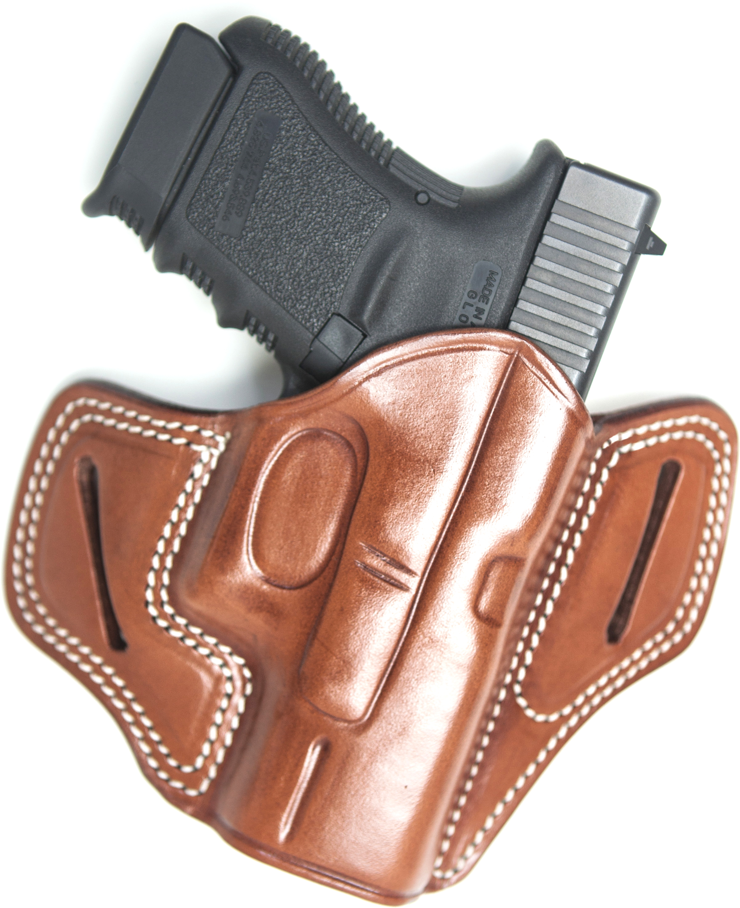 Cebeci Arms Tactical Grip Leather Pancake Holster for Ruger