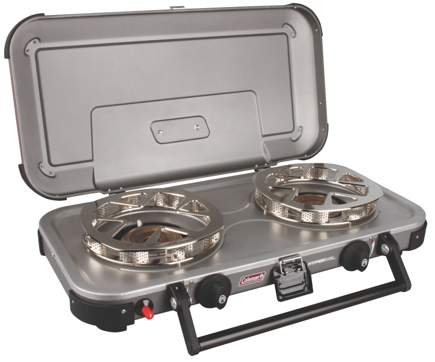 Signature Fyreknight Hyperflame 2 Burner Propane Camping Stove 5 Star Rating W Free Shipping And Handling