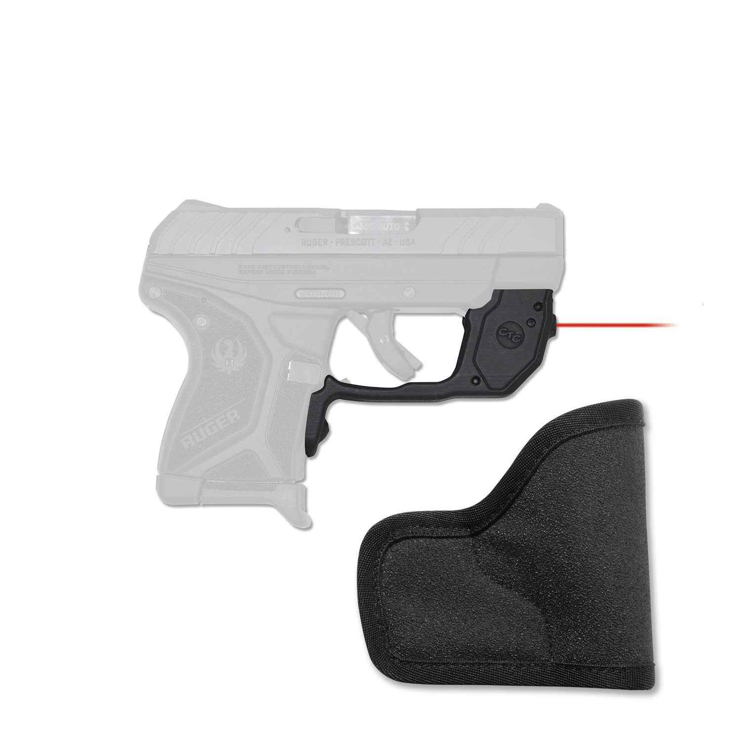 Crimson Trace Laserguard for Ruger LCP II