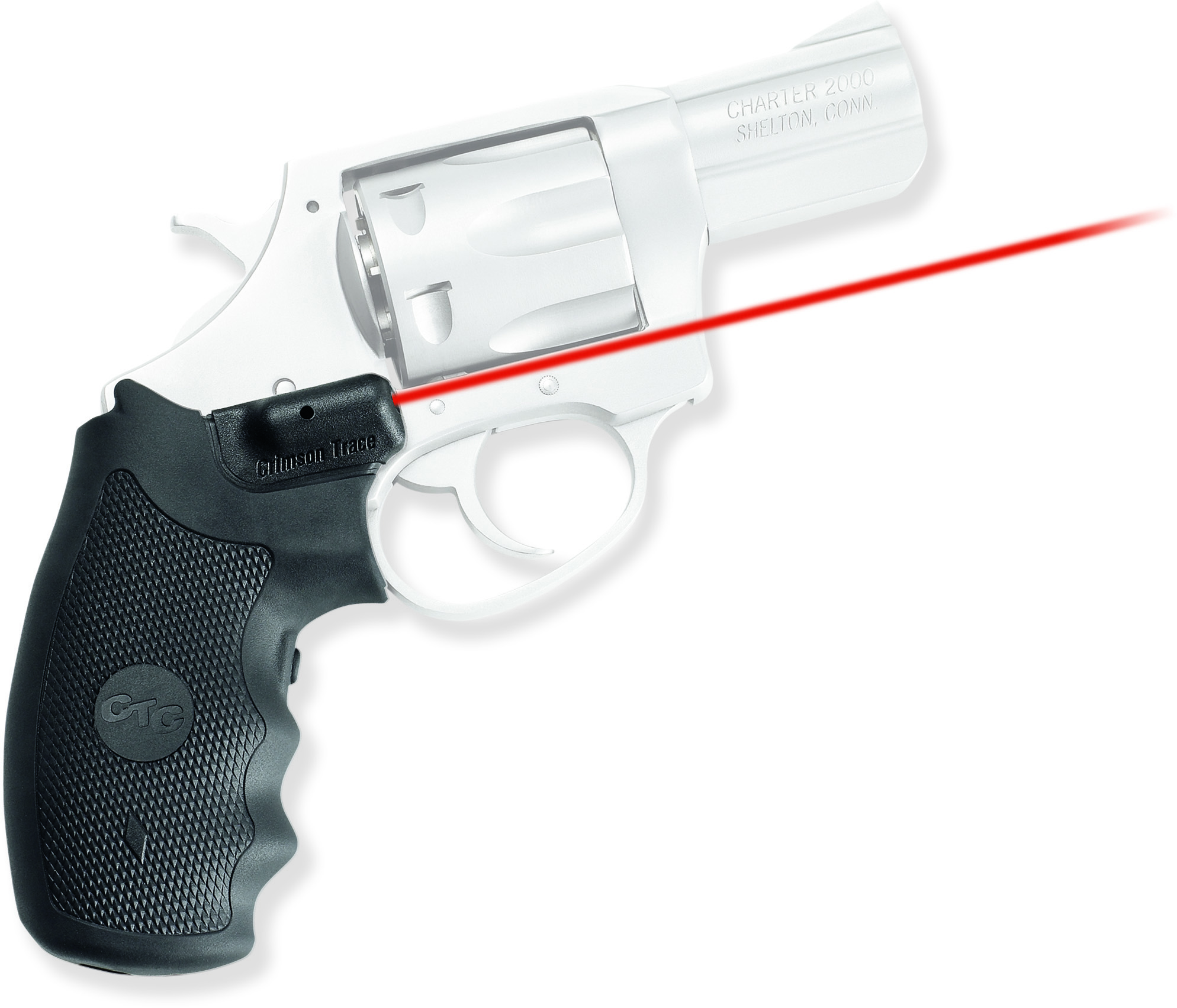Crimson Trace Rubber Laser Grip For Charter Arms LG325