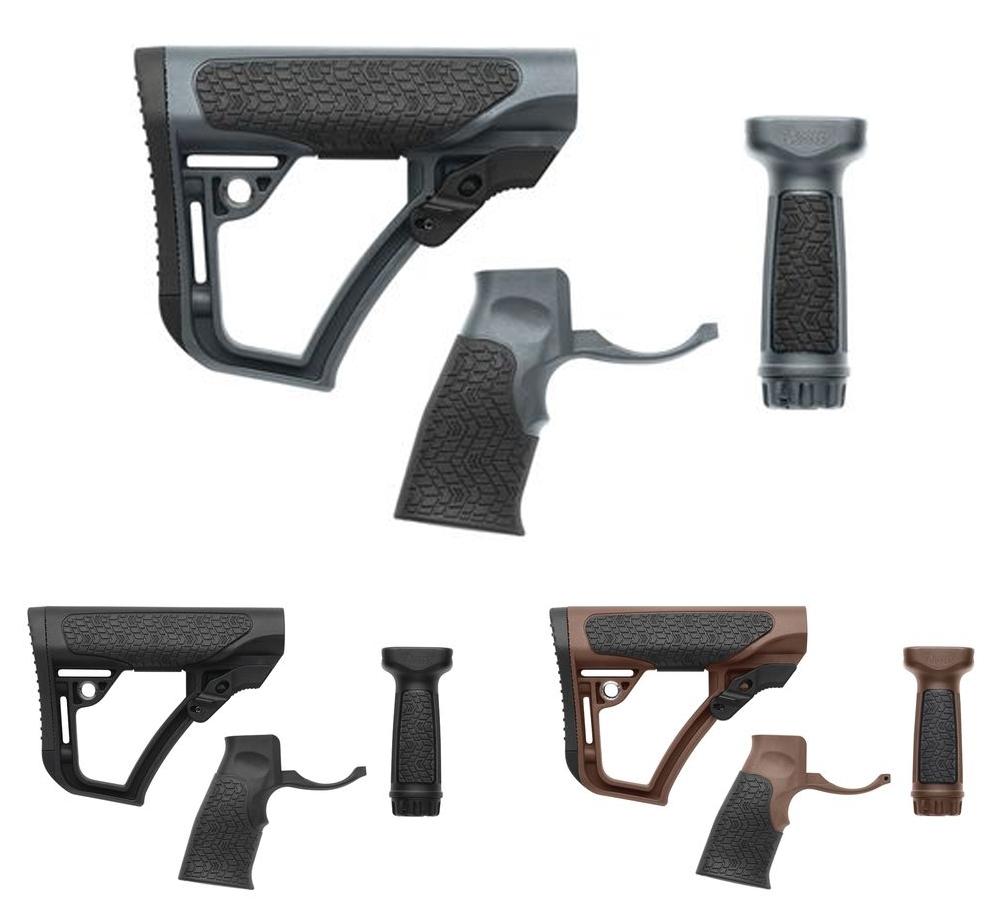 Daniel Defense Buttstock/Pistol Grip/Vertical Foregrip Combo