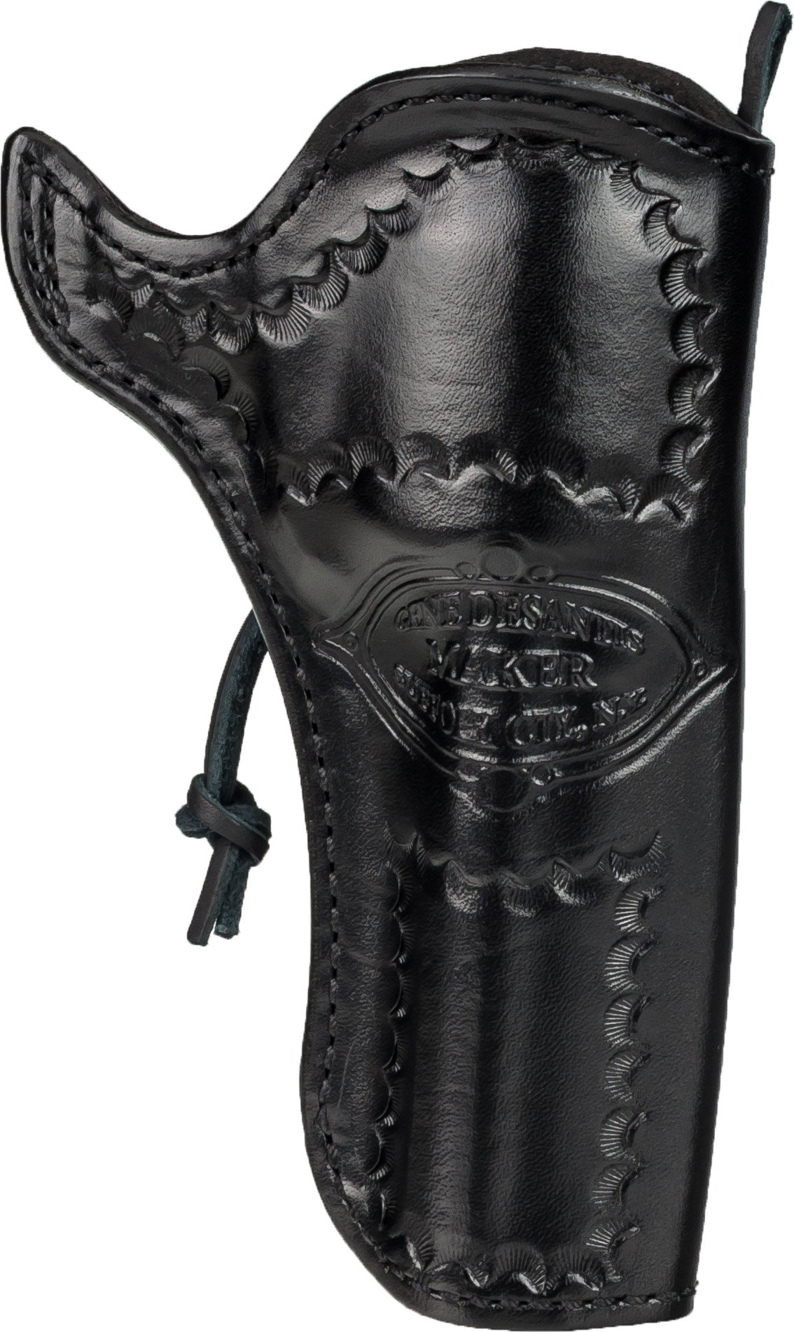 DeSantis Right Hand Black Doc Holliday Cross Draw Holster 083BC54Z0 - COLT  SAA 4in