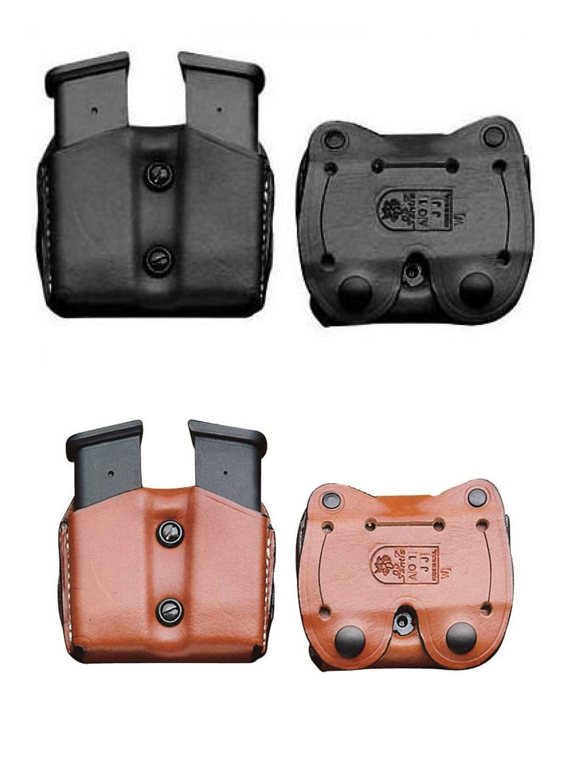 DeSantis Double Belt Magazine Pouch for Sig Sauer P365