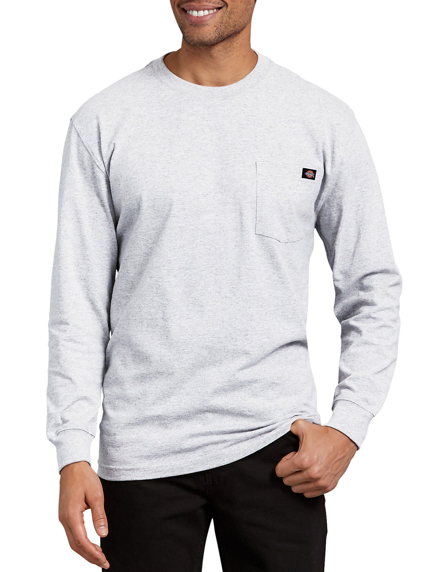 e2bc71a005a3 Dickies - Long Sleeve Heavyweight Crew Neck Tee | Up to 33% Off Free  Shipping over $49!