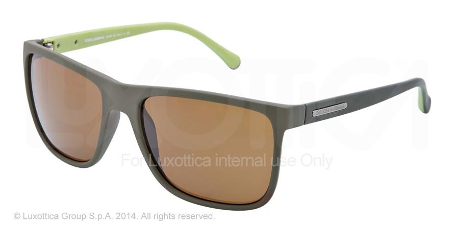 e2ab677891 Dolce Gabbana OVER-MOLDED RUBEBR DG6086 Bifocal Prescription Sunglasses