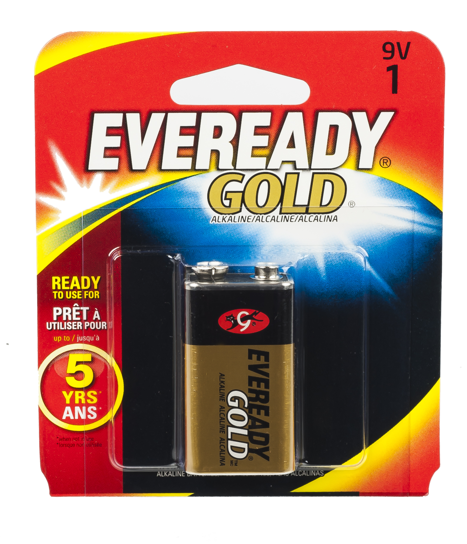 Eveready Gold AA Alkaline Battery 4-Pack