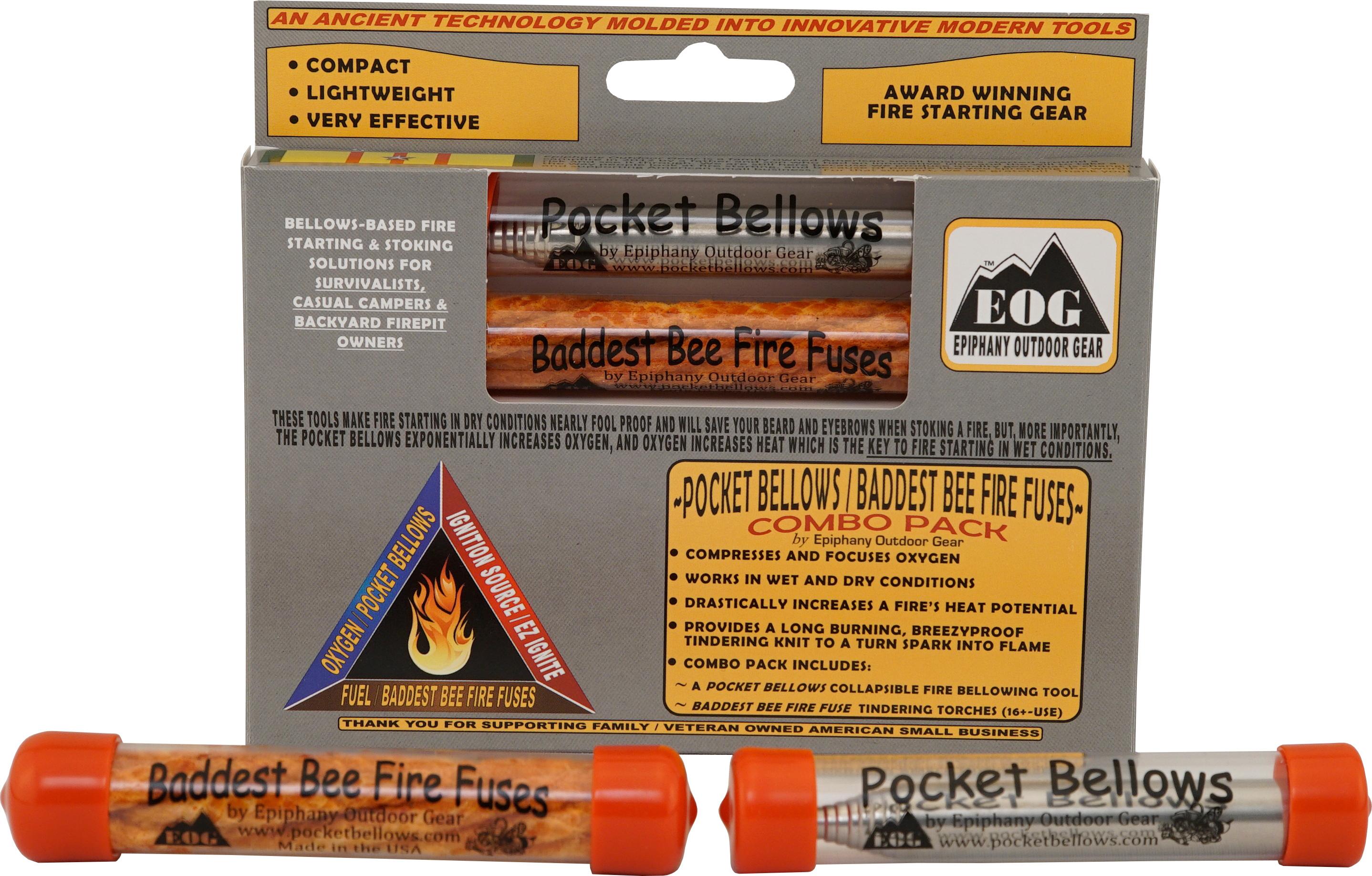 Epiphany Outdoor Gear Pocket Bellows/Baddest Bee Combo Box