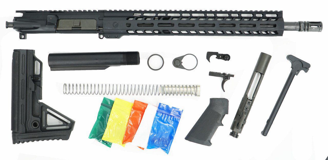 Ghost Firearms 5 56 Complete Upper Receiver w/Rifle Lower Parts Kit