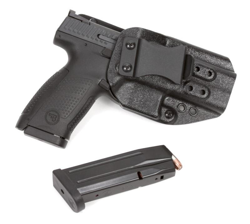 High Threat Concealment CZ Spektre IWB Pistol Holster