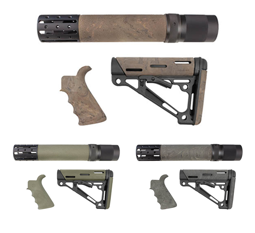 Hogue Ar15 Kit Bfg Grip Rail Forend Accessory Omc