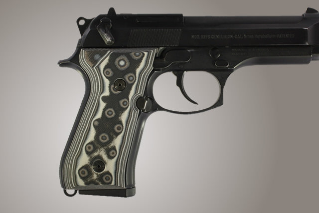 Hogue Beretta 92 Handgun Grip G-10