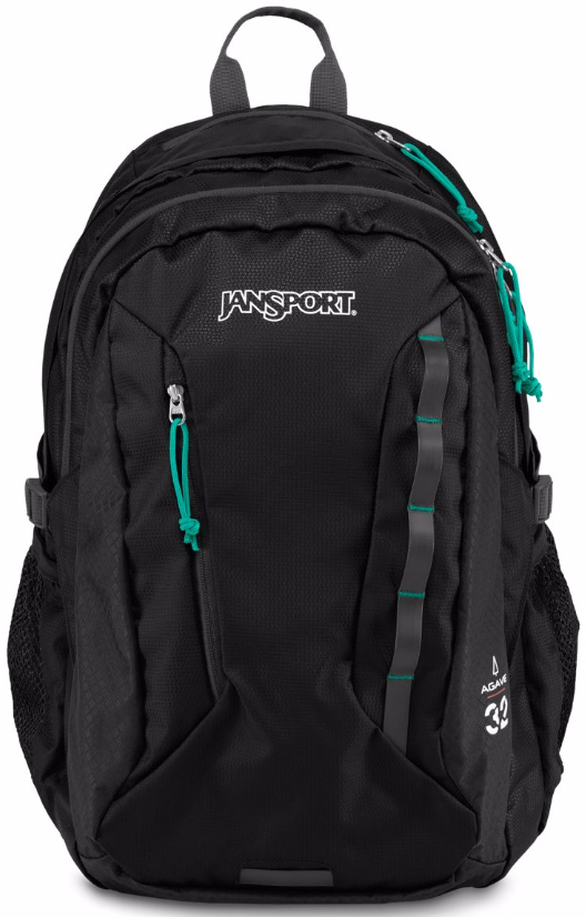 1778c4f65 Jansport Women's Agave Backpack JS00T70L008 Color: Black, Pack Volume: 32,  Gender: Female, w/ Free Shipping