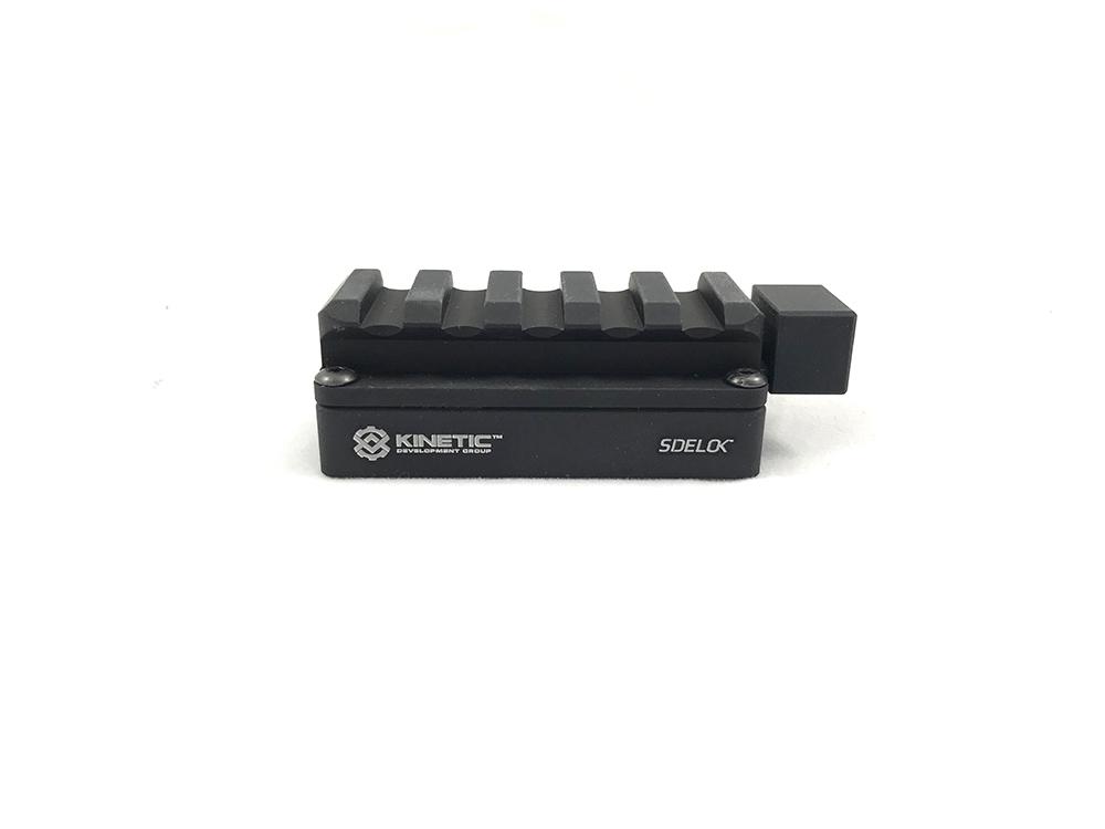 Kinetic Development SID5-050 Sidelok Short Universal Riser Rifle//Pistol Rail