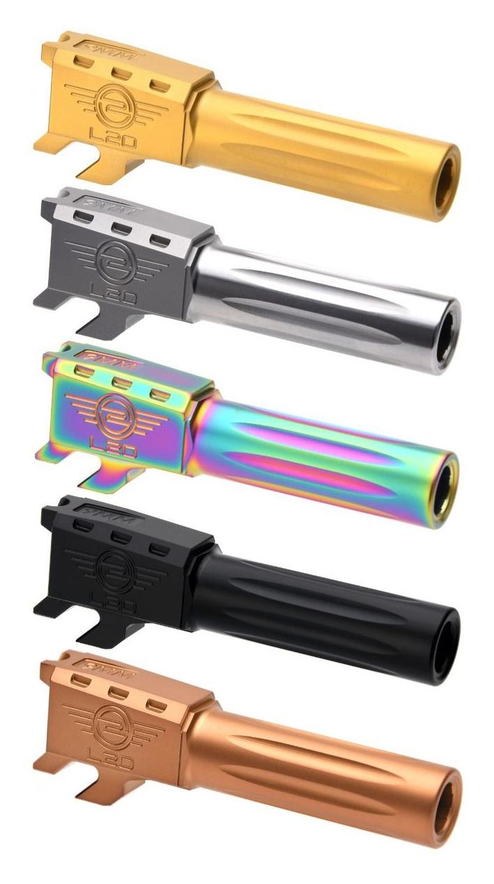 L2D Combat Smith & Wesson M&P Sheild 9 Precision Match Fluted Barrel