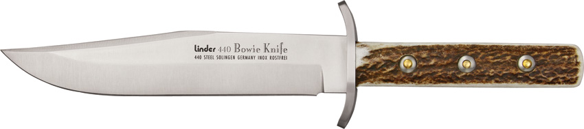 Linder 440 Stainless Bowie Knife