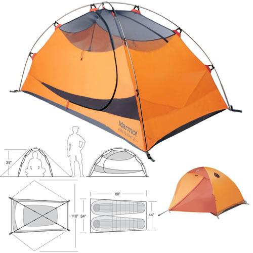 Marmot Earlylight 2 Tent - Dark Cedar  266afda58