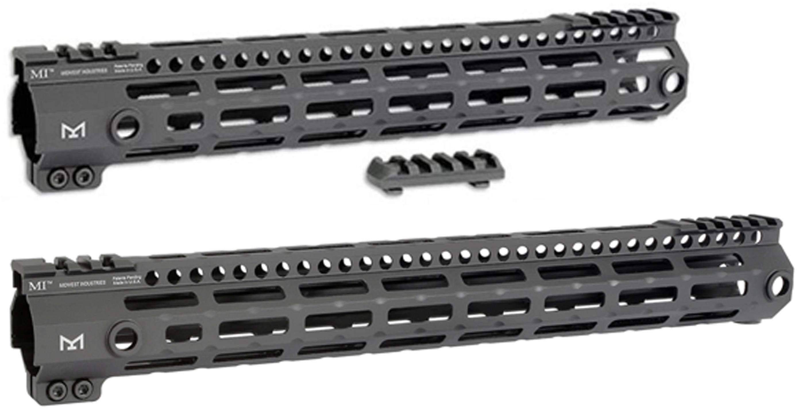 Midwest Industries G3 Lightweight ML-Series One Piece Free Float Handguard,  M-LOK