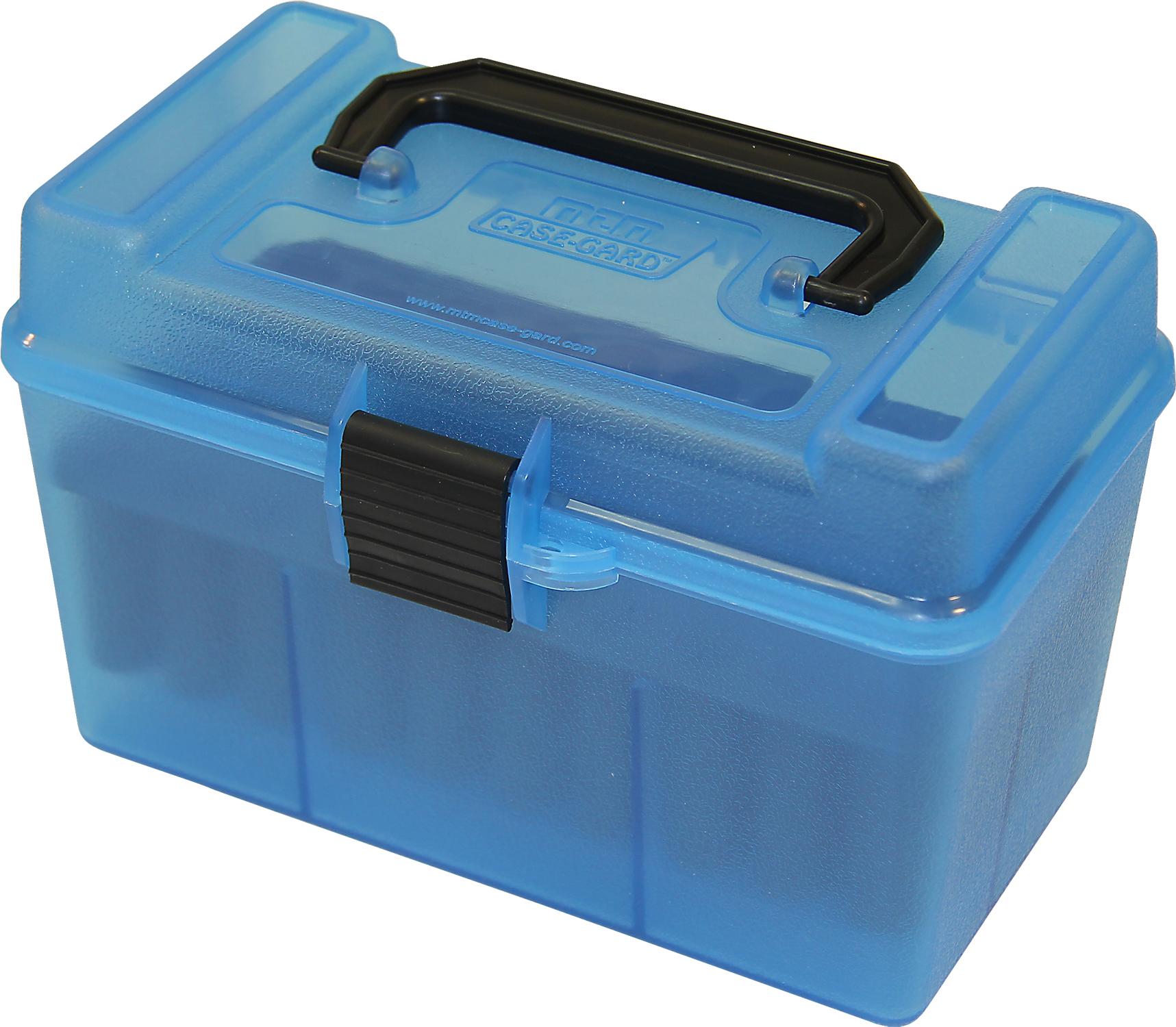 MTM H50 Ammunition Box  220 Swift to  30-06 Blue H50-RL-24