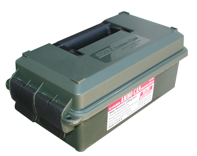 MTM Case-Gard Ammo Can Forest Green AC11