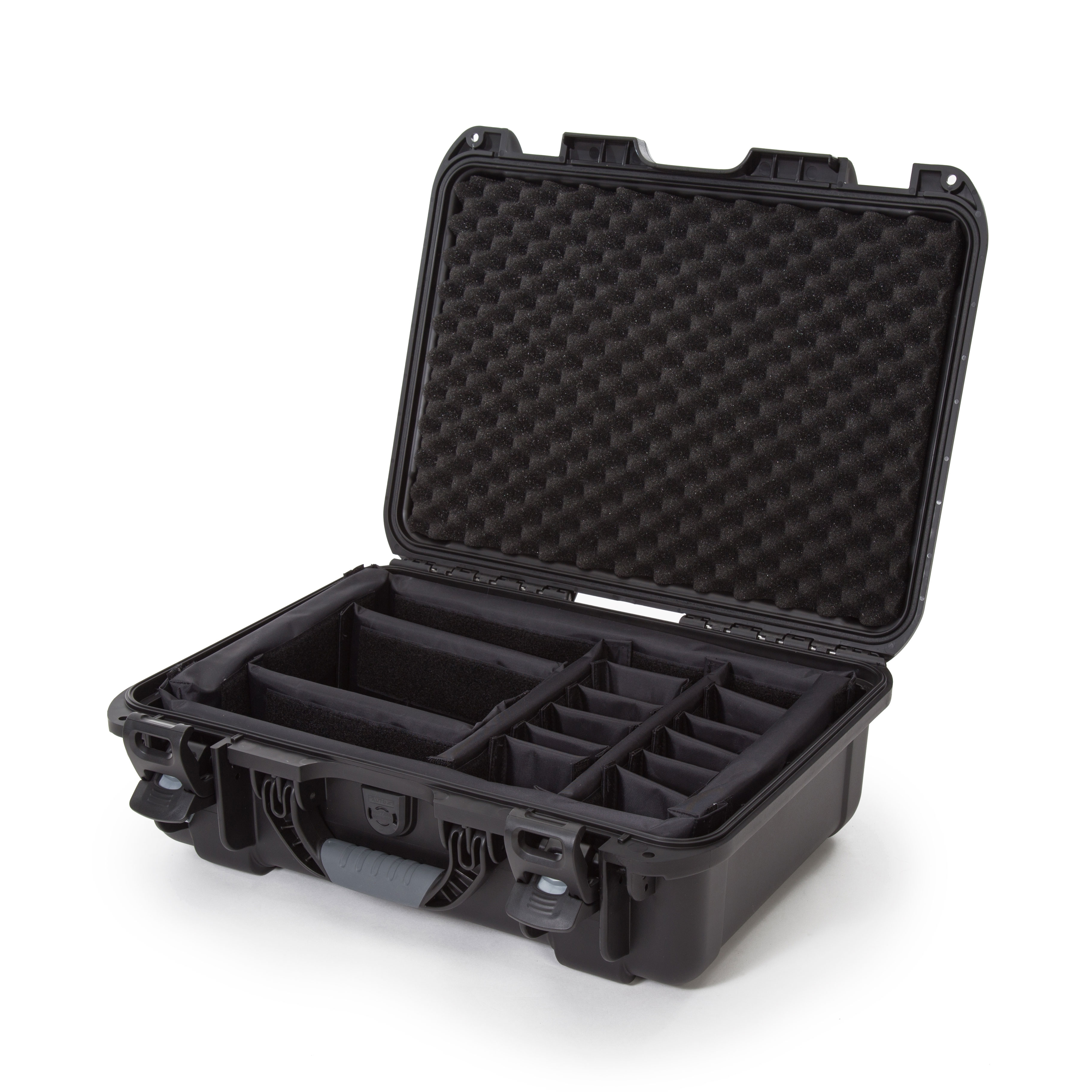 Silver Nanuk 925 Waterproof Hard Case with Padded Dividers