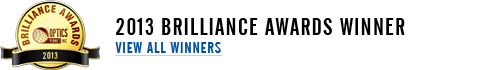 2013 Brilliance Awards Winner