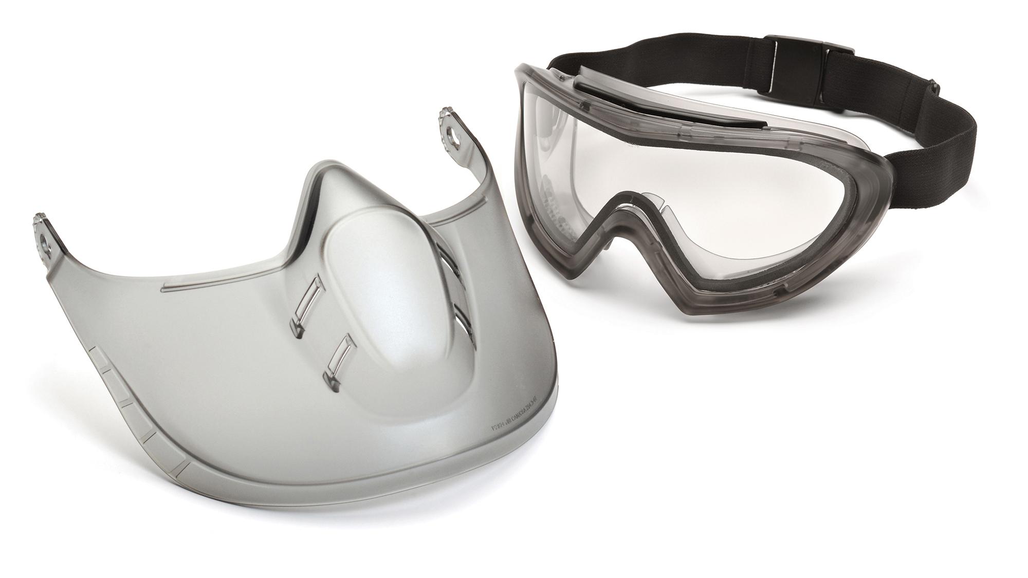 Pyramex Ventless Goggles Clear Anti-Fog