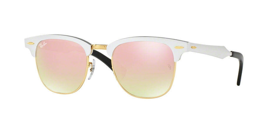 Ray-Ban CLUBMASTER ALUMINUM RB3507 Sunglasses   5 Star Rating w  Free  Shipping bb1d5320d0c5