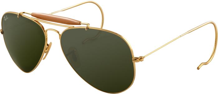 9af7a6fecd Ray-Ban Outdoorsman Bifocal Sunglasses RB3030 with Lined Bi-Focal Rx  Prescription Lenses w  Free S H — 2 models