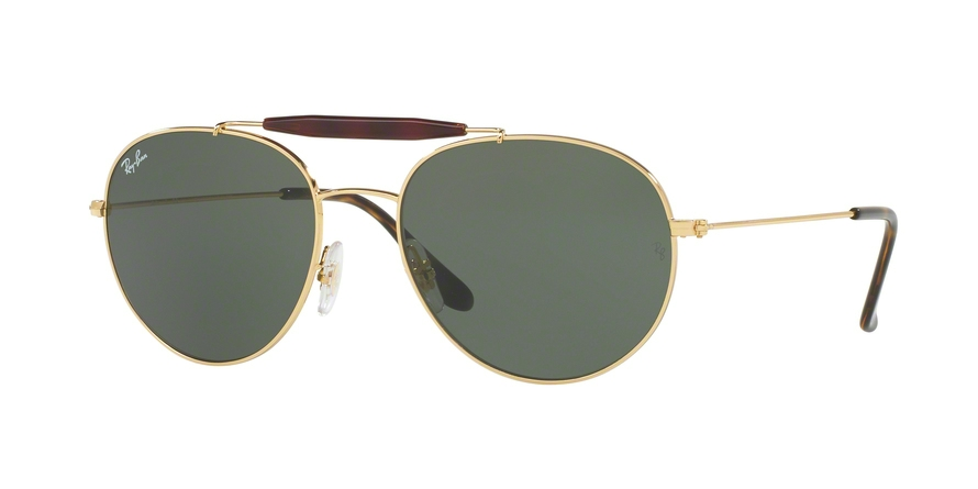 f9fab20b2a Ray-Ban RB3540 Sunglasses RB3540-001-56 Frame Color  Gold
