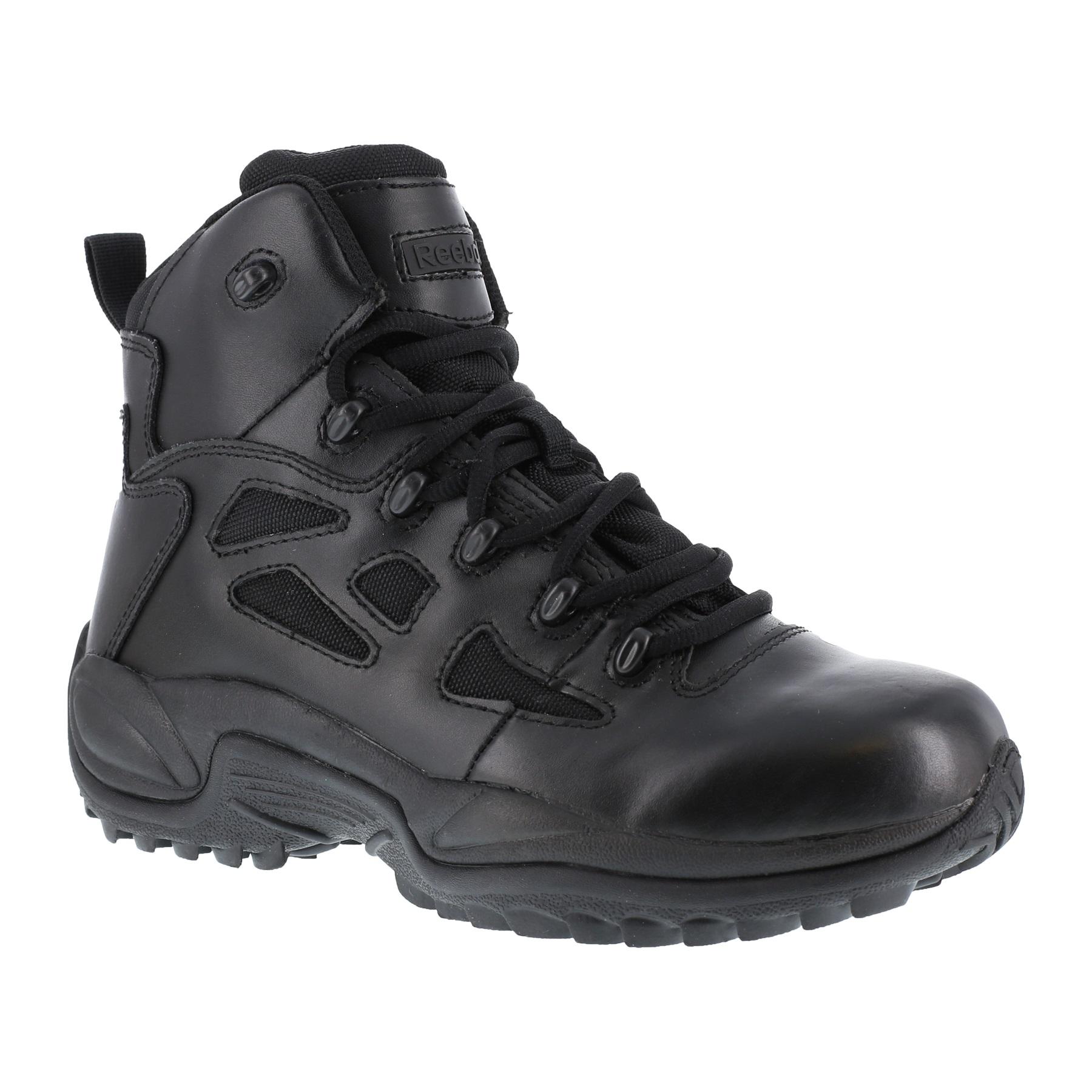Reebok Rapid Response Black WP Military Boot  2444611cd