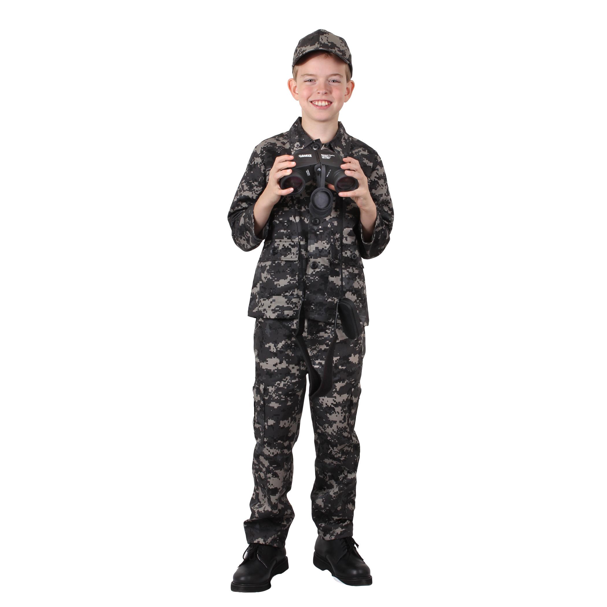 Desert Digital Camo Rothco 66225 Kid/'s Digital Camo BDU Shirt