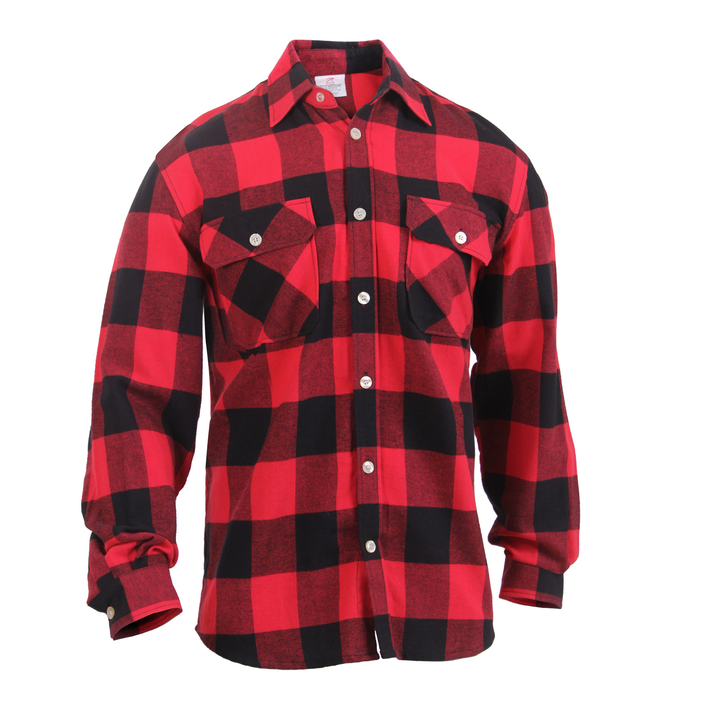 4d2fc175cd6 Rothco Lightweight Flannel Shirt