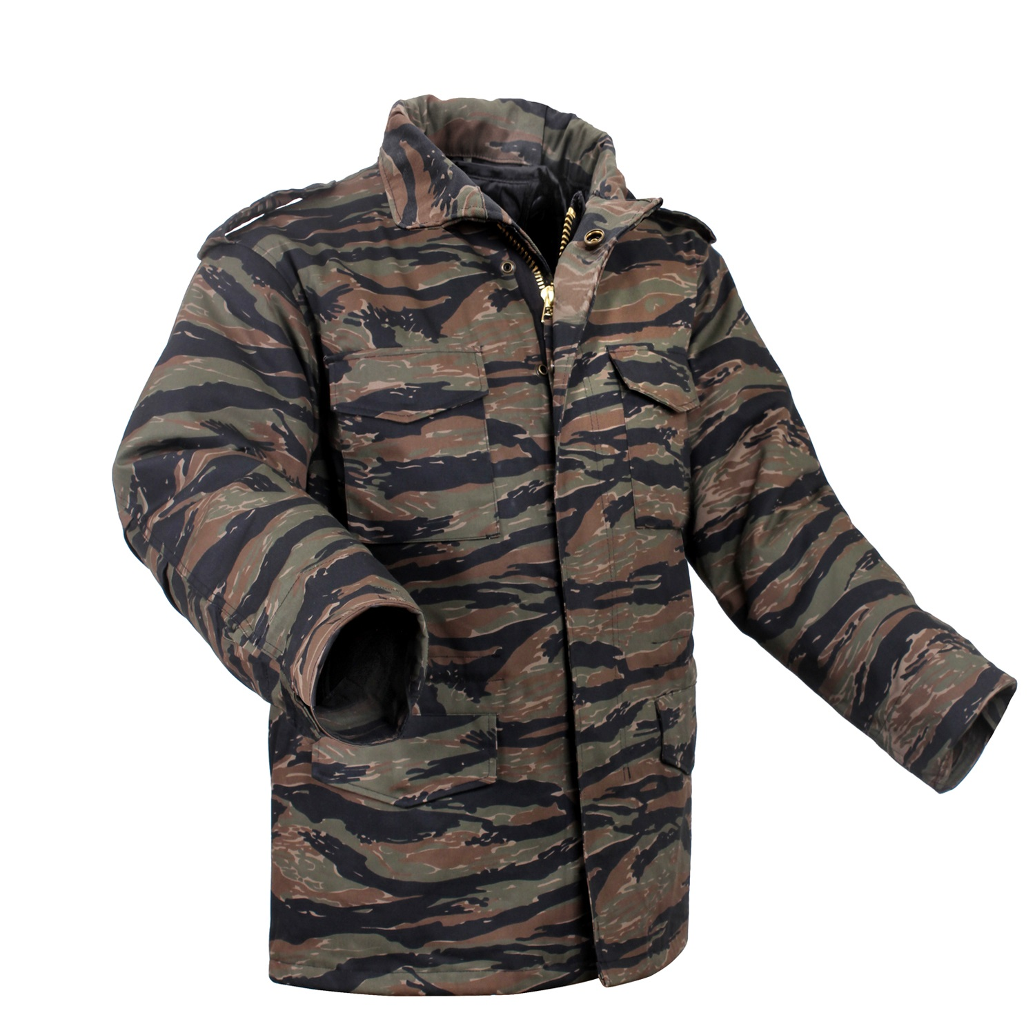 f1fe6eb4a3033 Rothco M-65 Camo Field Jacket | Up to 24% Off w/ Free S&H