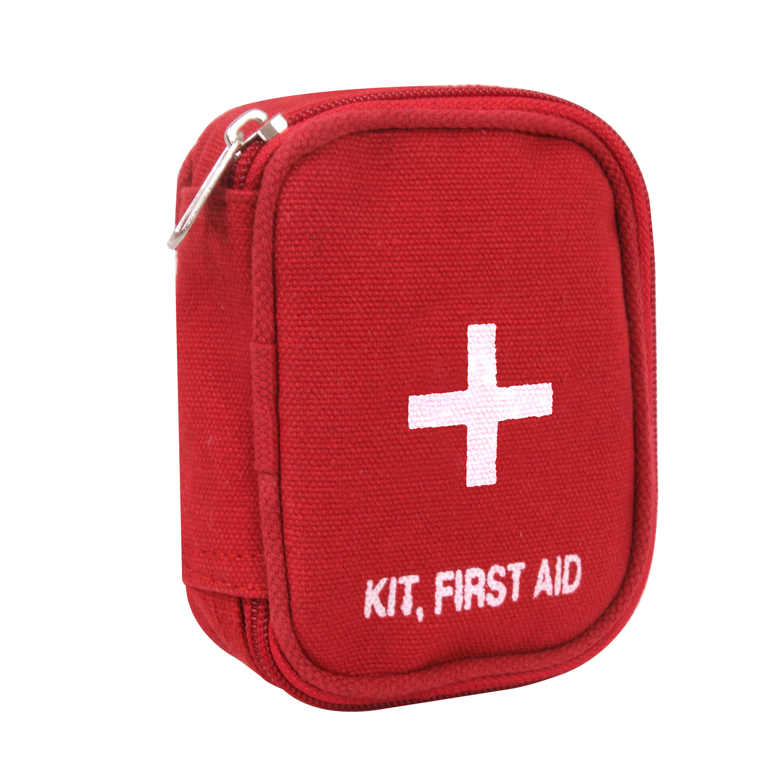Pouch Only Rothco 8378 First Aid Pouch Red Canvas Zippered First Aid Pouch