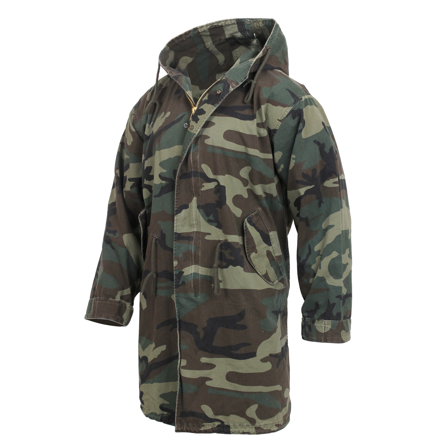 7cf1b367fe19d7 Rothco 's Vintage Camo M-51 Fishtail Parka | Up to 20% Off w/ Free S&H
