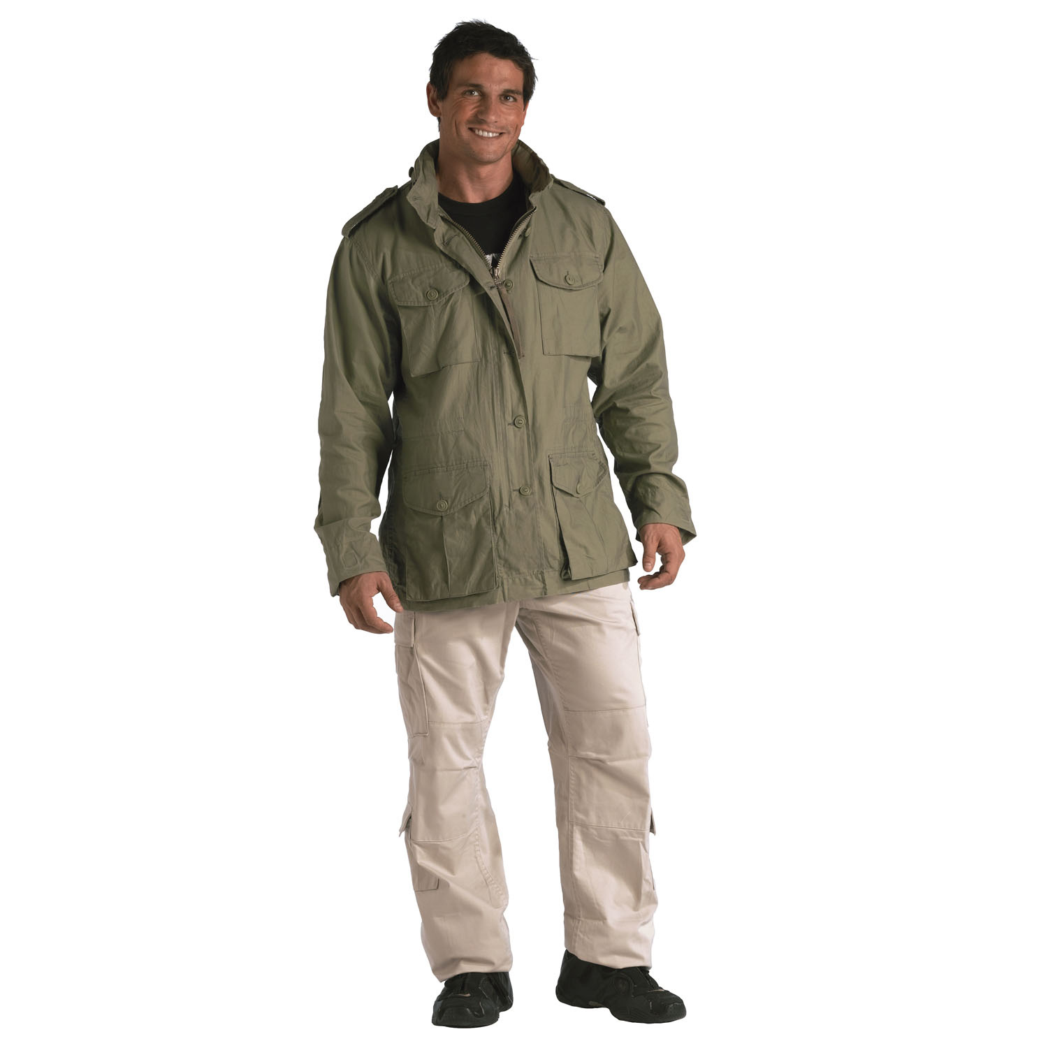 457728a9ab387 Rothco Vintage Lightweight M-65 Field Jacket | Up to 27% Off w/ Free S&H