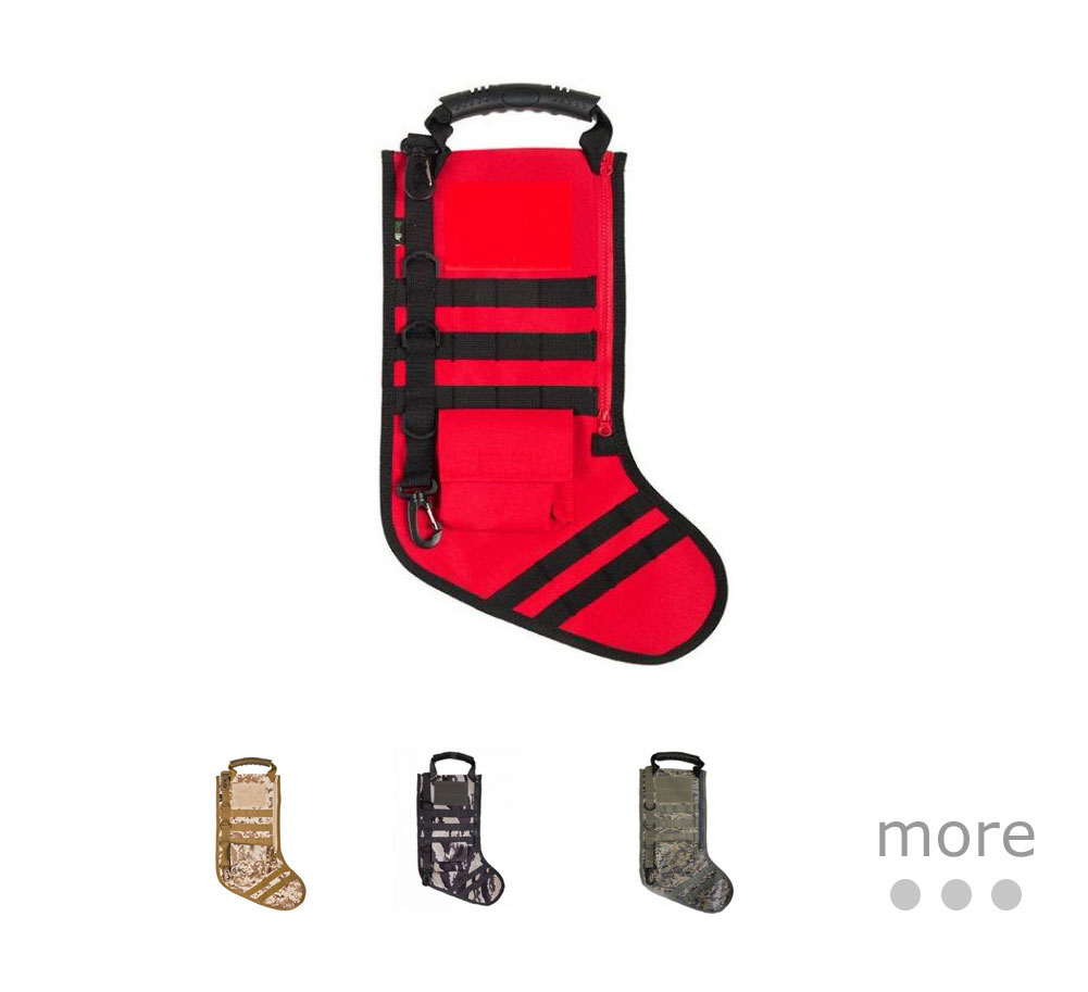 Tactical Christmas Stocking Stuffed.Ruck Up Tactical Stocking W Molle 17 5x11in