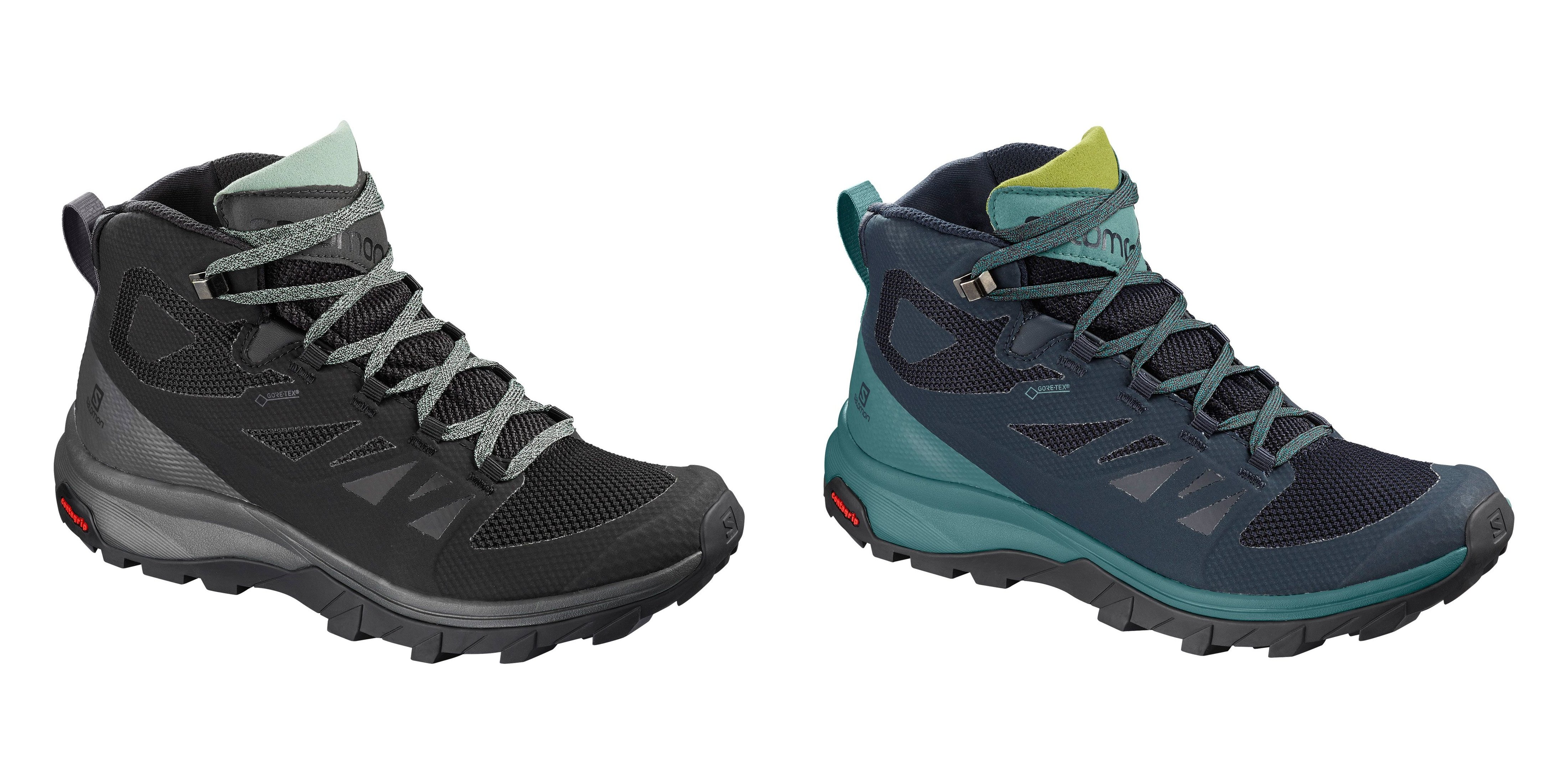 salomon outline gtx womens hiking shoes 24