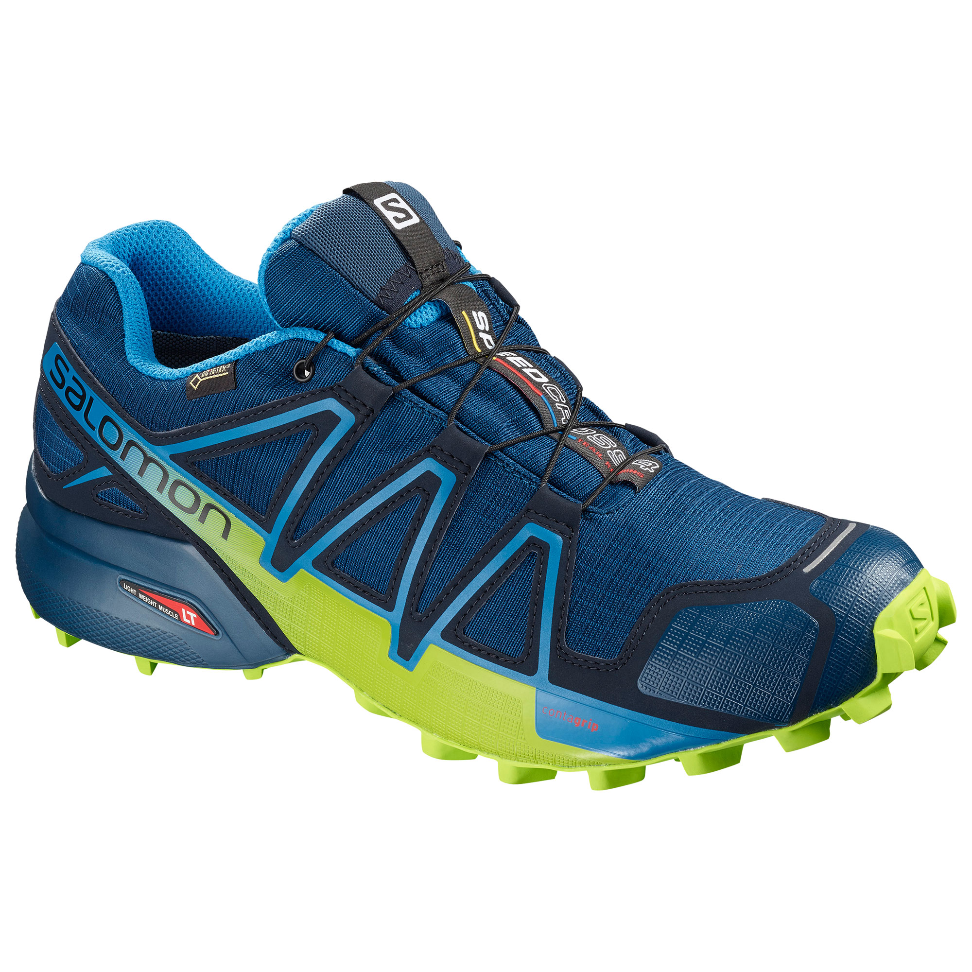 Details about Salomon Speedcross 4 GTX Womens Trail Running Shoes Blue