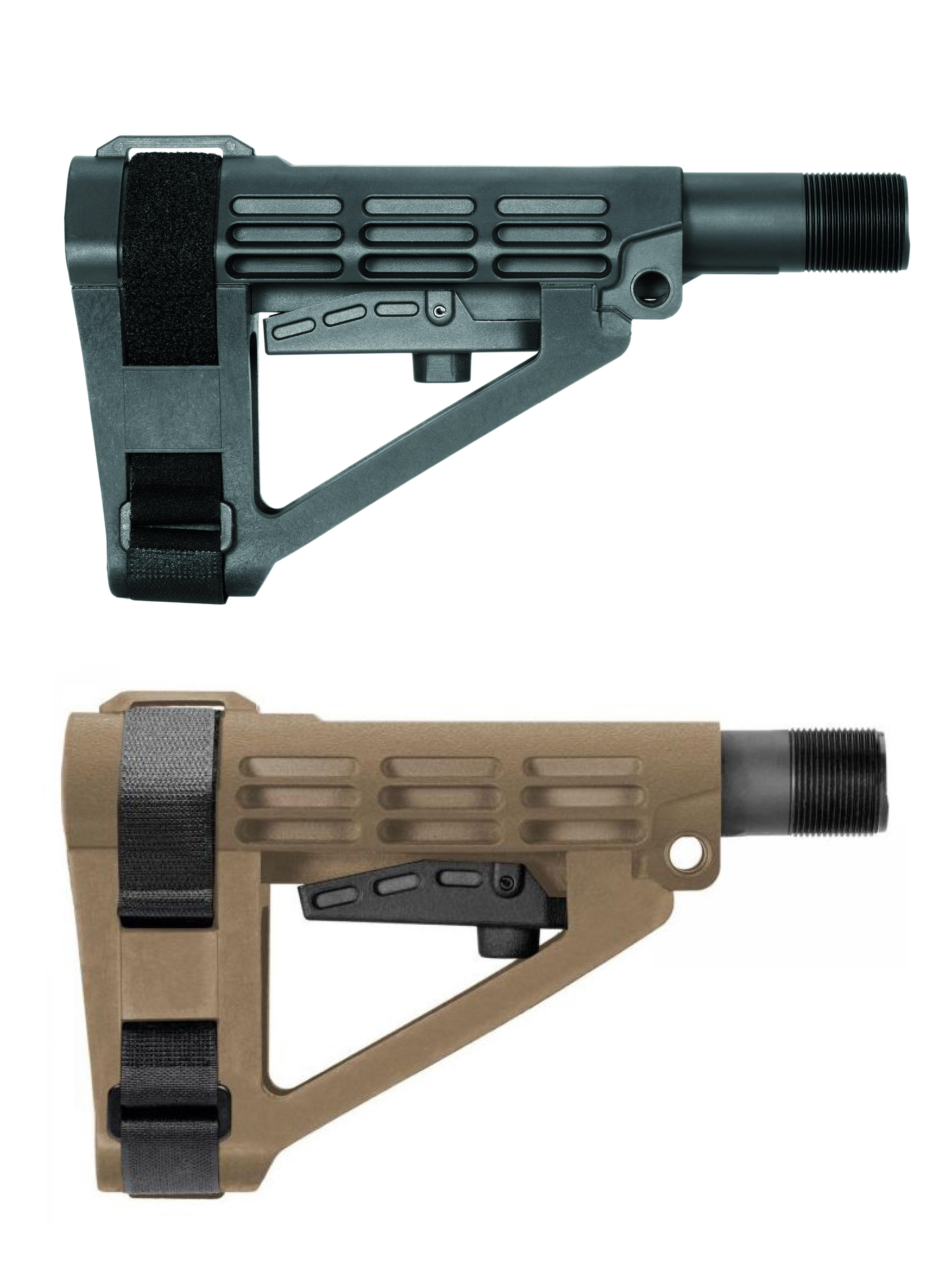 SB Tactical SBA4 Stabilizing Brace for Mil-Spec Carbine Extension Platforms