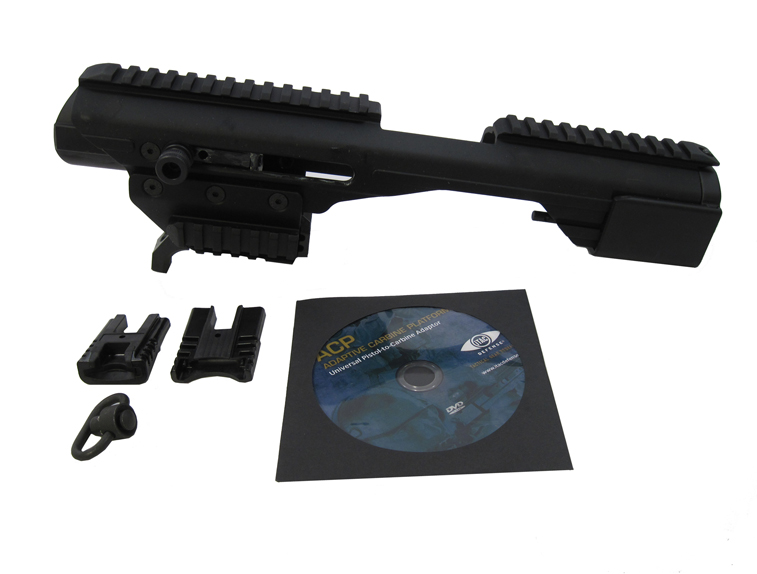 SigTac ACP with Universal Railed Pistol Adapter