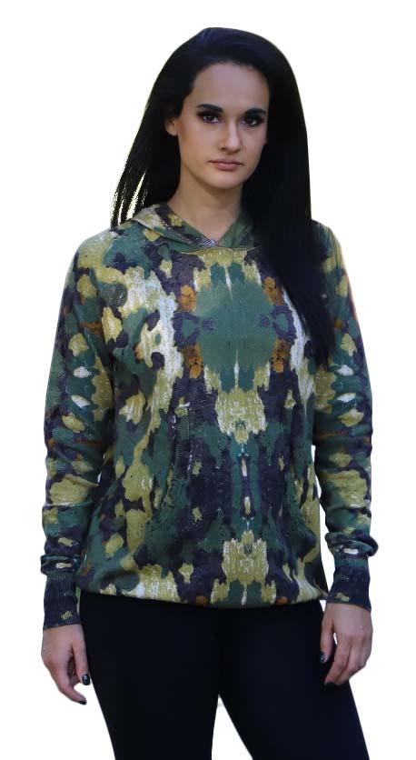 Tactica Clever Concealment Camo Sweater - Women's
