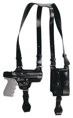 Tagua Gunleather Full Slide Shoulder Holster Smith & Wesson M&P Right Hand  Black SH4-1000