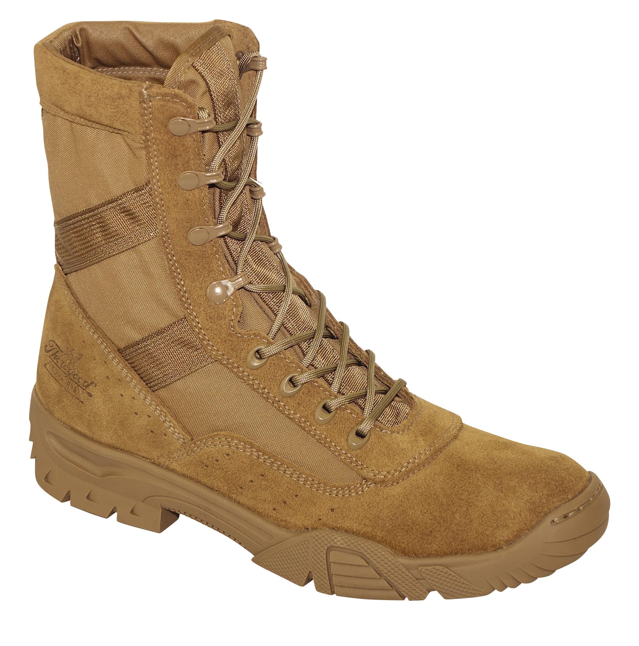 7210aae19c9 Thorogood Mens Saw 8in Military Boot