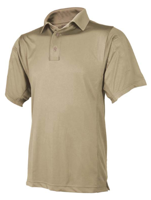 Tru Spec 24-7 Series Mens short sleeve polo shirt Silver Tan navy black grey