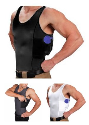 06a704dabb7e1 Undertech Undercover Ultimate Compression Tank Top Concealment Holster  Shirts