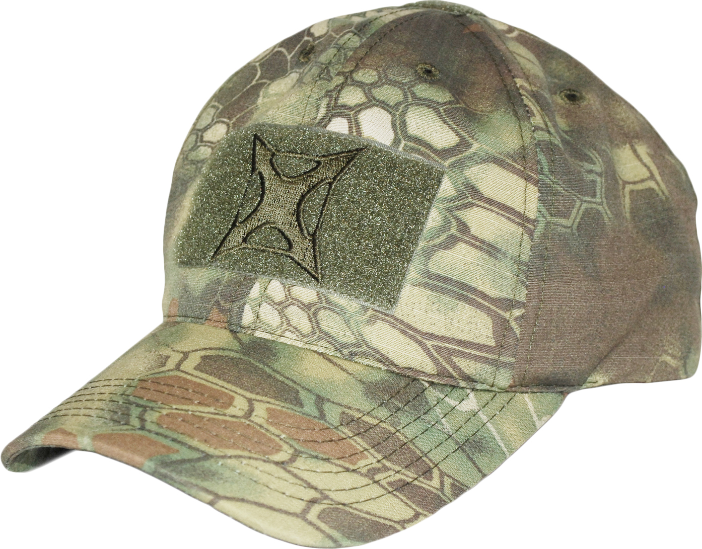 Vertx Kryptek Hat w/Velcro Patches and Embroidery